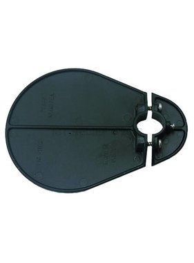 Perko Glare shield for pole lights (black Polymer)