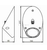 Astel Conus MST18240 hoogvermogen LED onderwater verlichting ontworpen als schuine afgeknotte kegel
