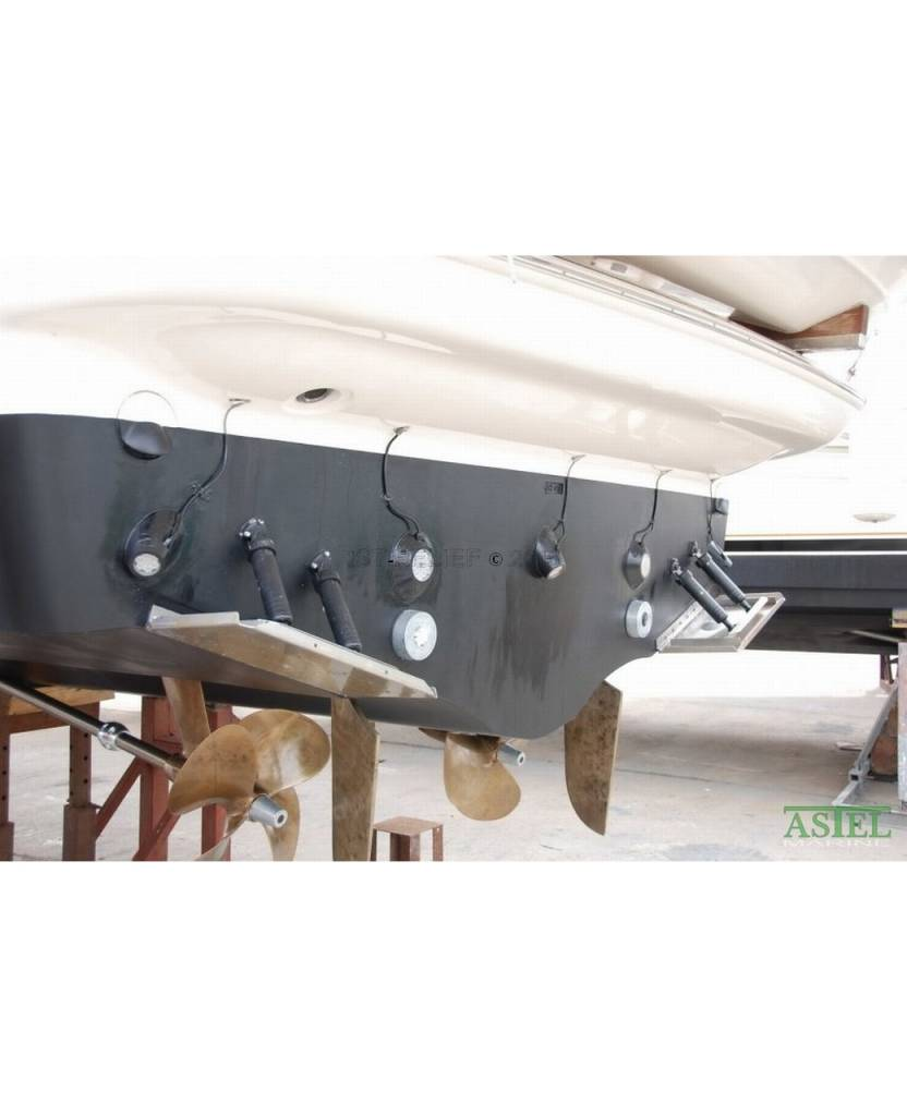 Astel Convex MST0680 LED underwater light for standard surface at the stern of the hull