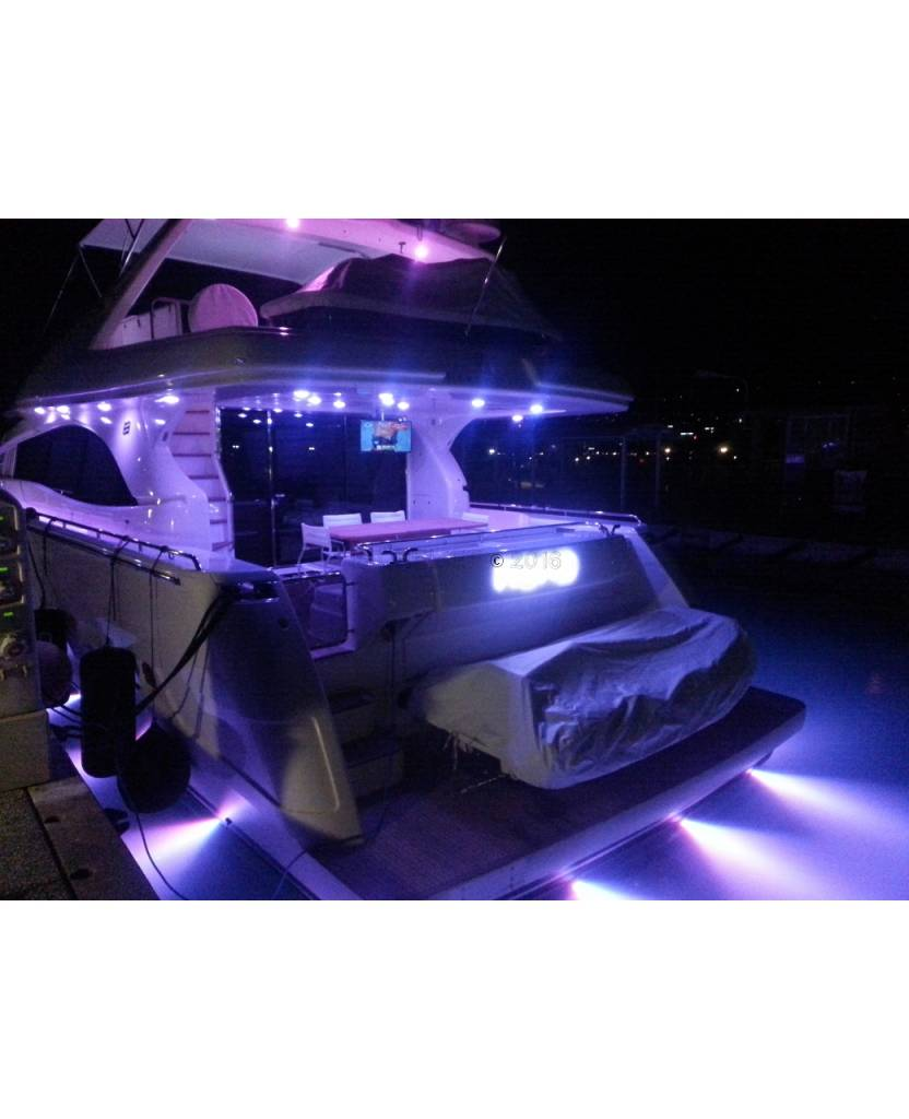 Astel Convex MSR0680 LED underwater light for standard surface at the stern of the hull
