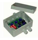 Astel PWM Dimmer MoU13 voor het gebruik met een enkele kleur Equator en met enkele of drie kleuren van Conus, Convex en Plaque lichten.