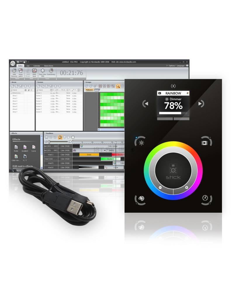 Nicolaudie DMX512 контроллер Stick-DE3 - контрольная решение для самых требовательных проектов