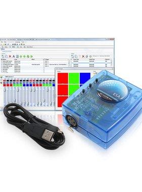 Nicolaudie DMX512 contrôleur SLESA-U9