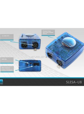 Nicolaudie DMX512 контроллер SLESA-U8