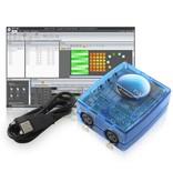 Nicolaudie DMX512 controller SLESA-UE7 con USB ed Ethernet