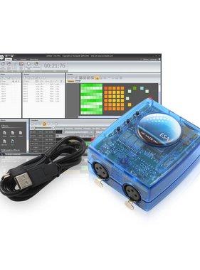 Nicolaudie DMX512 contrôleur SLESA-UE7