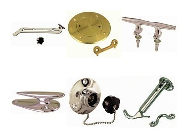 Deck equipment, Hardware