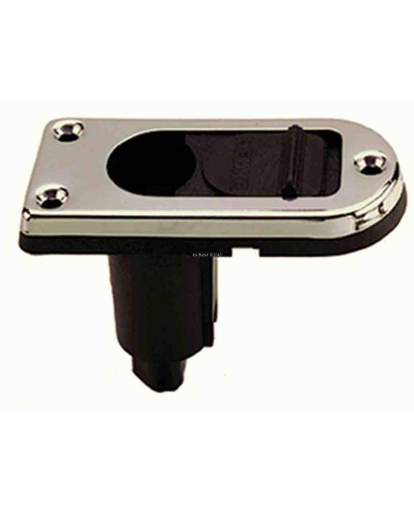 Perko Pole Light Montage Base (rechthoekig) Plug-In Type