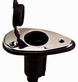 Perko Pole Light Mounting Base (drop-shaped surface) Plug-In Type