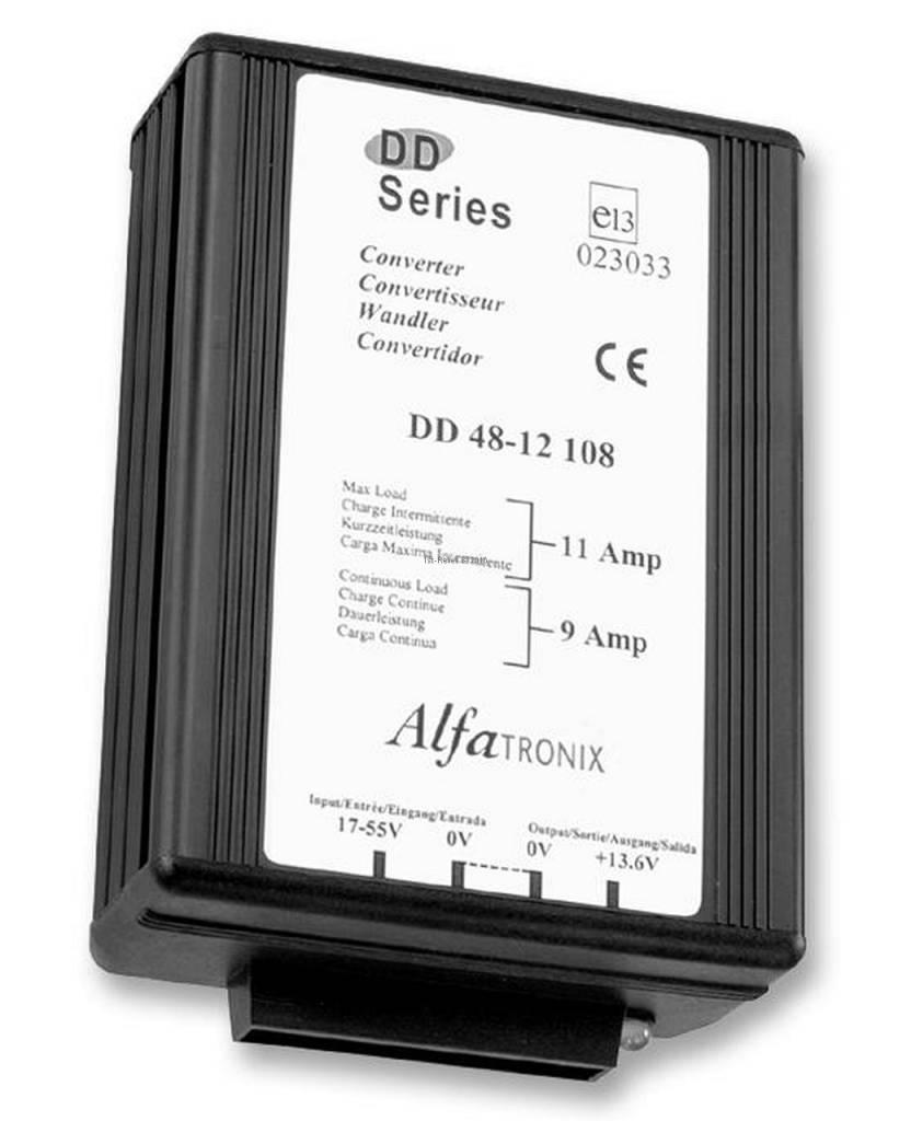 Alfatronix 48 VDC a 12 VDC convertitore di alimentazione non isolato