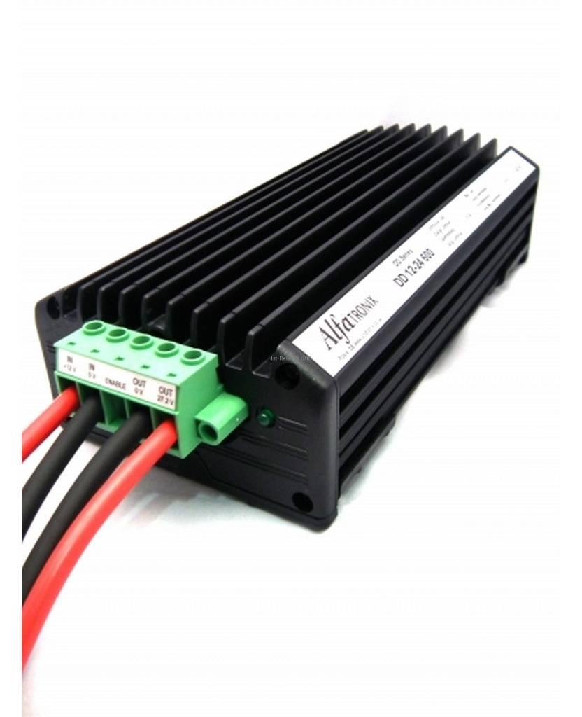 Alfatronix 12 VDC tot 24 VDC Power Converter niet-geïsoleerde