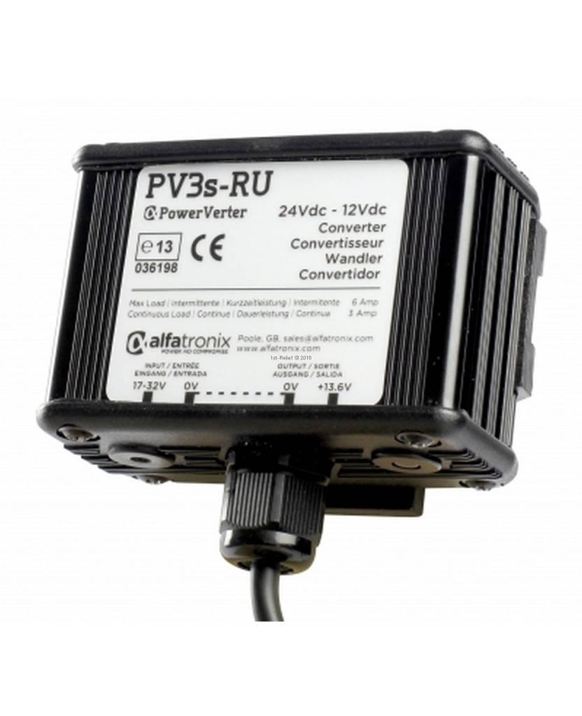 Alfatronix 24 VDC to 12 VDC Power Converter non-isolated