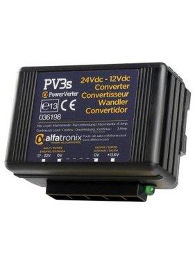 Alfatronix 24 VDC tot 12 VDC Power Converter niet-geïsoleerde