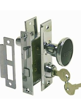 Perko Mortaise Lock Set Turn Bouton