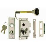 Perko Cabindoor - Rim Lock Set (Lever and Knob, key lockable)