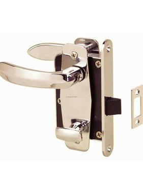 Perko Cabindoor - Compact Mortise Latch Set with Handles