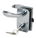 Perko Cabindoor - Tamaño Full Rim Lock Set con asas, llave de cerradura