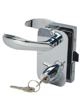 Perko Cabindoor - Full Size Rim Lock Set met handvatten