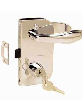 Perko Cabindoor - Flush lock set with Handles
