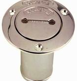 Perko Benzin-, Wasser-, Diesel- oder Abfall- Einfüllstutzens mit O-Ring für 1 - 1/2-Zoll-Schlauch; Nicht belüftet