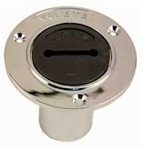 Perko A gasolina, Agua, diesel o tubo de llenado Residuales con el anillo o el 1 - Manguera de 1/2 pulgadas; Sin ventilación