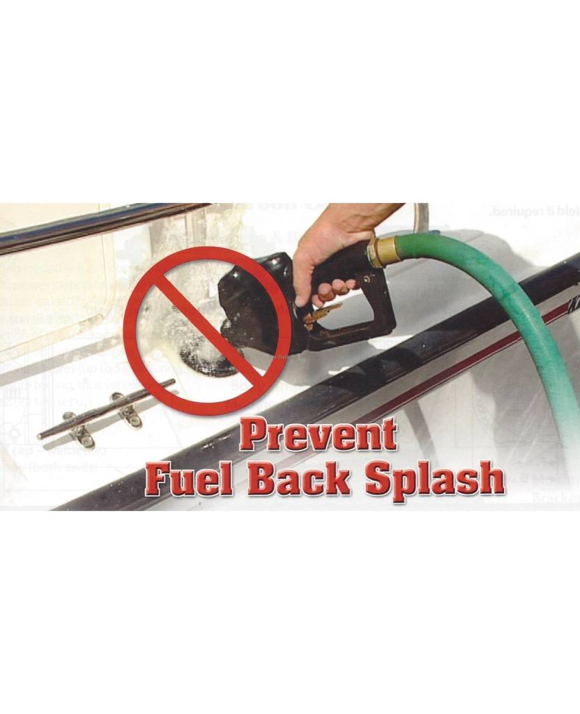"""Perko """"In-Hose"""" Inlet Check Valve (ICV) to reduce or eliminate a reverse flow of fuel (well back and spit back)"""