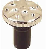 "Perko Spare cap with O-ring; for gasoline, diesel, water and waste fill pipe; for 1-1/2"" hose"