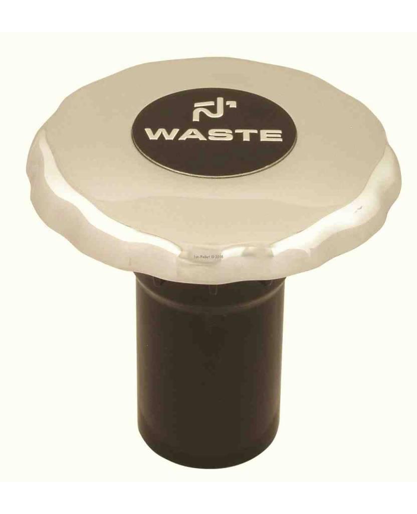 Perko Diesel-, Wasser- oder Abfall- Einfüllstutzen mit O-Ring für 1 - 1/2-Zoll-Schlauch; Nicht belüftet