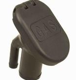 Perko Vulpijp voor benzine of water met flip dop; geventileerd; voor 1-1 / 2 inch slang