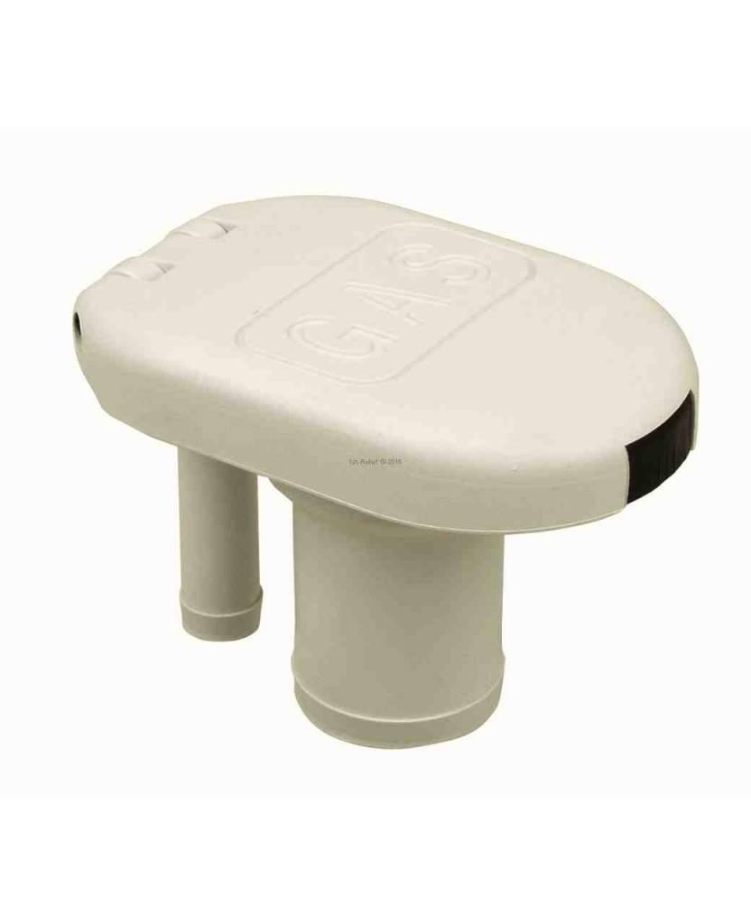 Perko bocchettone per la benzina o l'acqua con tappo flip top; ventilati; per tubo 1-1 / 2 pollici