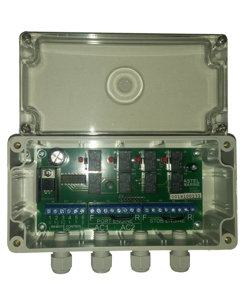 Astel Extra Control Unit MYW868BE voor het draadloze jacht controlesysteem MYW868BCP