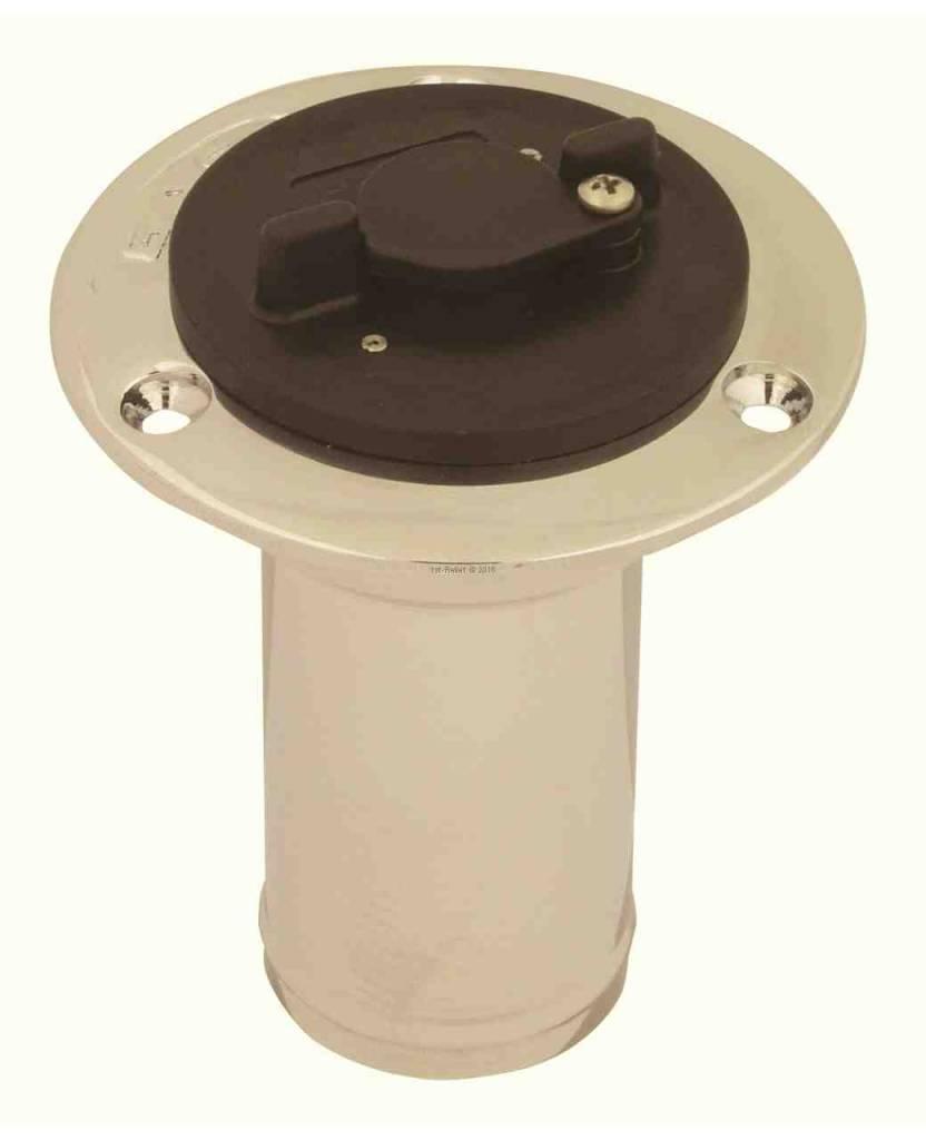 Perko sistema di alimentazione Yacht anti-furto di blocco-cap per non ventilato bocchettone 1 1/2 pollice