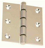 Perko Hinge, massive construction, opening angle 180 °, for flush closing doors