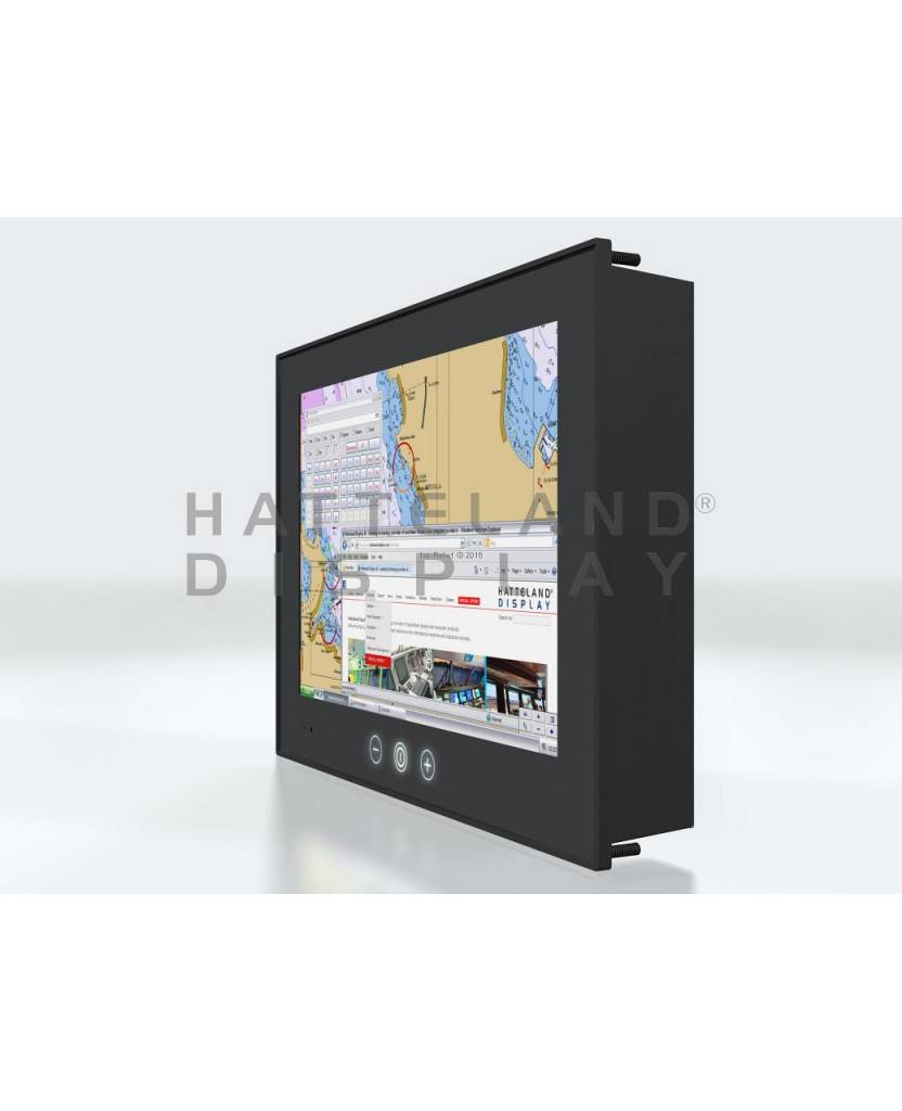 Hatteland Display panel computer con touchscreen per la navigazione Lanterna gestione Serie X, Widescreen 8 e 13 pollici