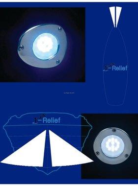 Perko ancla de proa y la luz LED de la nave