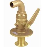 Perko Sea cock curved - ball-valve