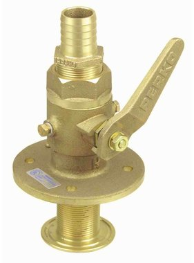 Perko Sea cock straight - ball-valve