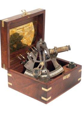 ECOBRA Nostalgisch sextant, messing