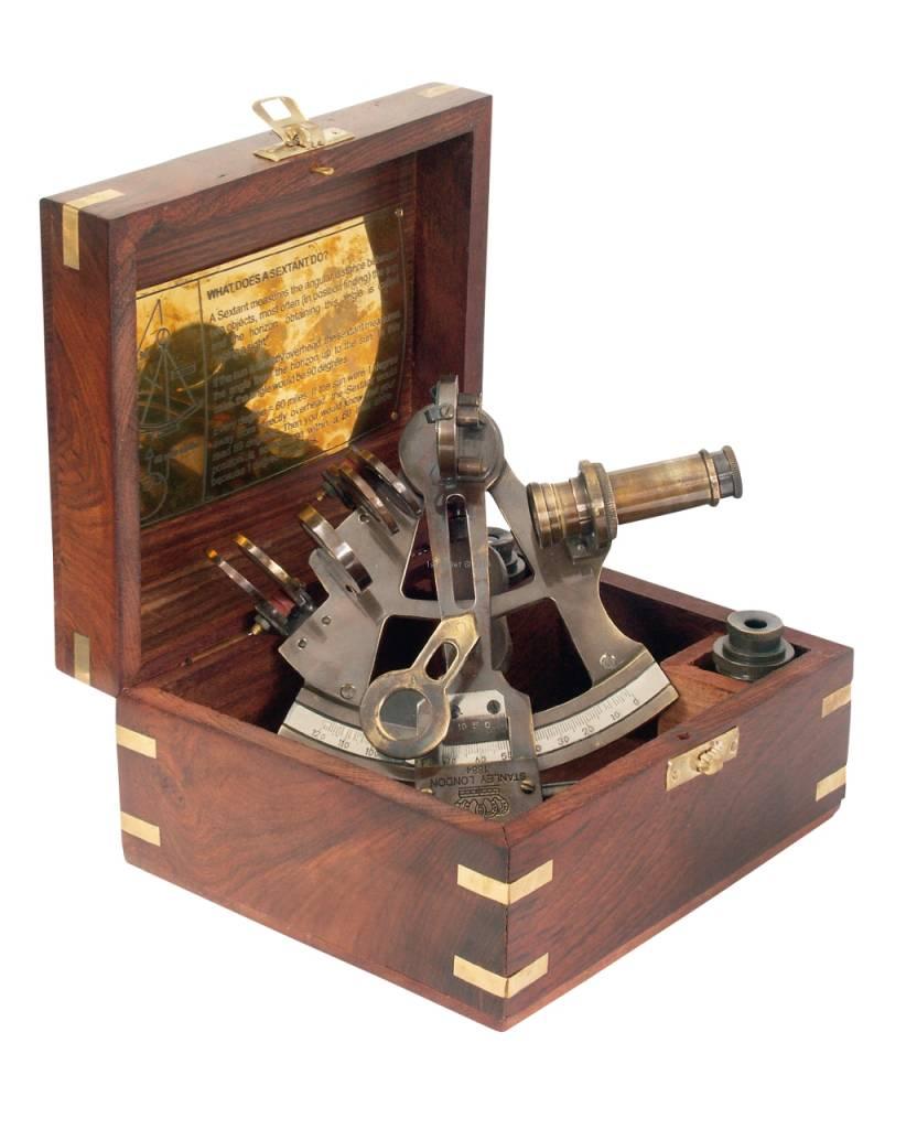 ECOBRA sextante nostálgico, latón