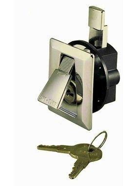 Perko chromé Verrou Flush avec 2 clés