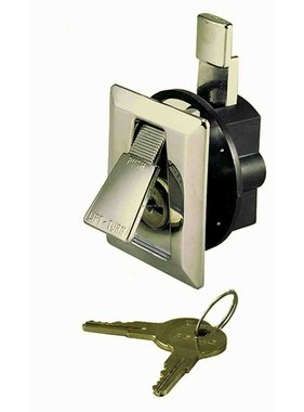Perko Cromado cierran a ras con 2 llaves