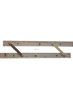 ECOBRA Parallel - liniaal; 45,7 cm (18 inch)