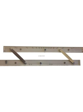 ECOBRA Parallel - ruler; 38.1 cm (15 inches)
