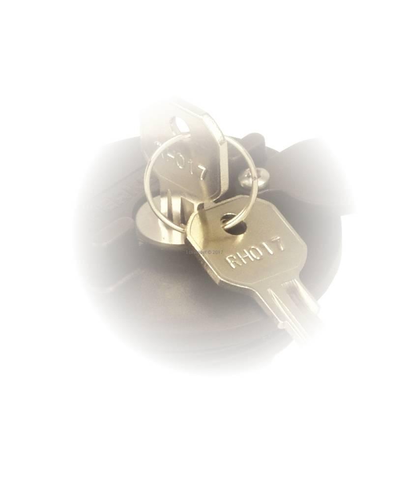 1st-Relief Chiavi di ricambio (2 pezzi) per tutti i prodotti con serratura