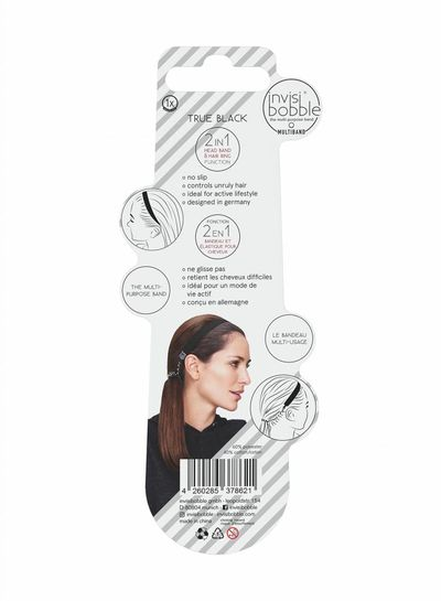 invisibobble® MULTIBAND True Black