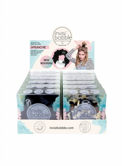 invisibobble® SPRUNCHIE 12er Display