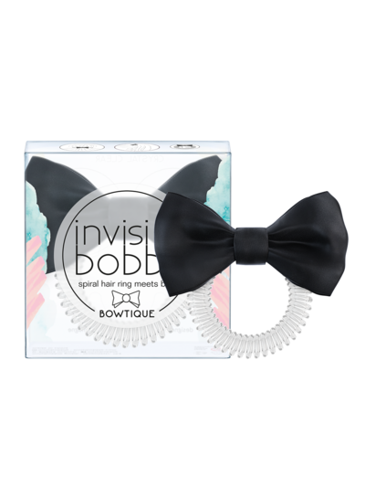 invisibobble® BOWTIQUE True Black