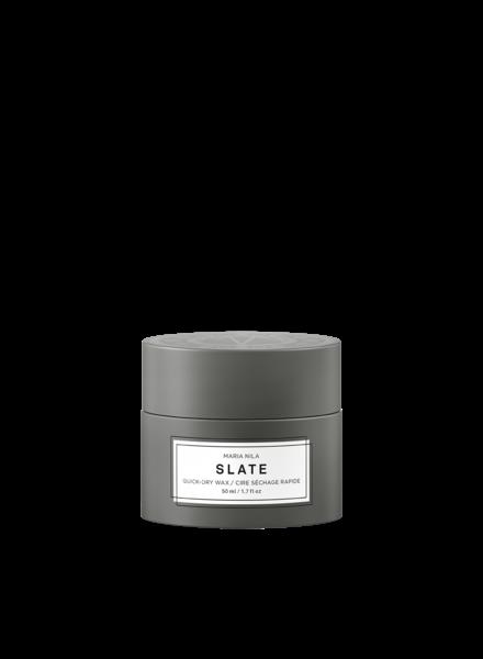Maria Nila Minerals SLATE -  Quick-Dry Wax 50 ml