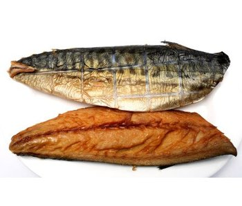 Gerookte makreelfilet vers, (ca.240 gram)