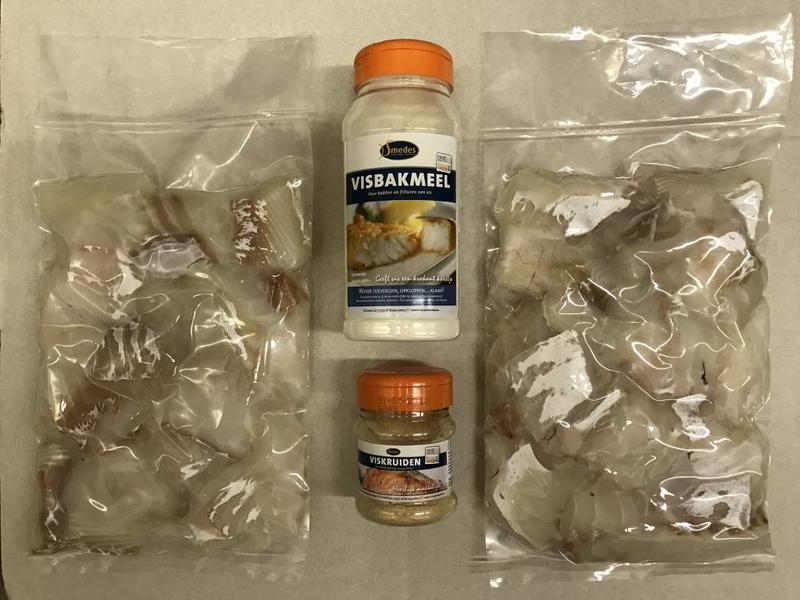 Kibbeling pakket (zelf maken) 1KG